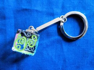Glass Keyring - Love You Mum mother's day gift